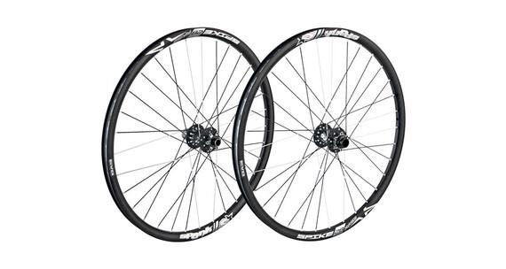 Spank Spike Race28 EVO wheelset 20mm + 12/150mm black
